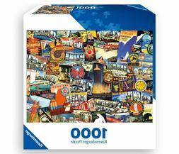 Ravensburger ROAD TRIP USA Jigsaw Puzzle -1000 PIECE - FACTO