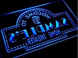 "SDesign Bar Custom Theater 12 x 8.5"" Light Sign Neon LED Hou"