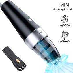 Portable Handheld Vacuum Cleaner Mini Cordless Car Home Dust