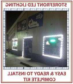 STOREFRONT COOL WHITE - BRIGHT! - WINDOW KIT LED LIGHTS SIGN