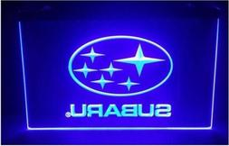 Subaru Blue Neon Sign For Garage Display Decor! Forester WRX