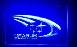 Subaru Rally Neon Sign For Garage Display Decor Forester WRX