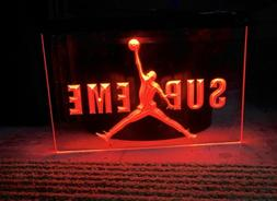SUPREME JUMPMAN LED NEON LIGHT SIGN 8x12