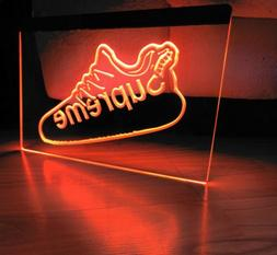 SUPREME SHOE LED NEON LIGHT SIGN 8x12