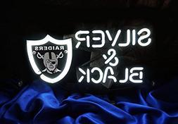 "Urby™ 20""x16"" Sports OR Team Silver and Black Custom Handm"