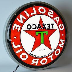 Neonetics TEXACO Motor Oil 15 INCH Backlit LED Lighted Sign,
