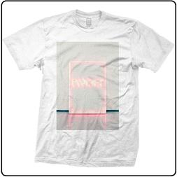 THE 1975 NEON SIGN WHITE BRAVADO T-SHIRT NEW WITH TAGS XL