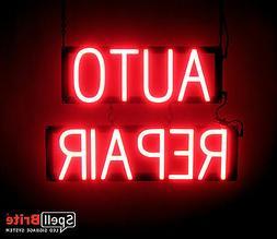 ultra bright auto repair sign neon led
