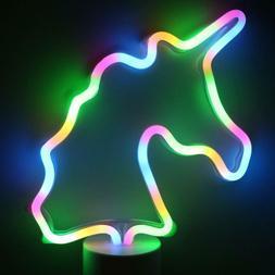 unicorn light neon signs led unicorn neon