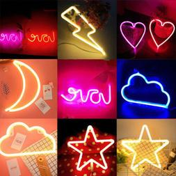 US Neon Sign Light LED Wall Light Visual Artwork Bar Lamp Ho