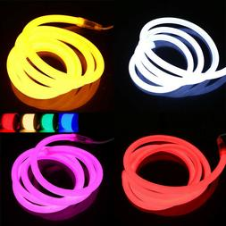 USA 360 Degree Glow Flexible LED Neon Light 110V Outdoor Eng