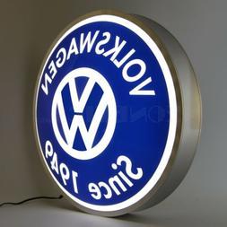 Volkswagen VW 'Since 1949' Backlit Led Lighted Neon Light Si