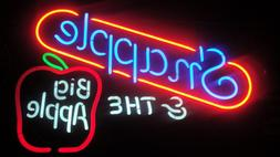 VTG 80'S NEON SIGN -LIGHT- SNAPPLE & THE BIG APPLE - 5 COLOR