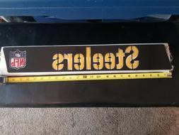 VTG Pittsburgh  Steelers football helmet plastic insert for