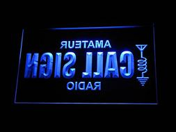 wb-tm Custom Amateur Radio Your Call Sign Led Neon Sign