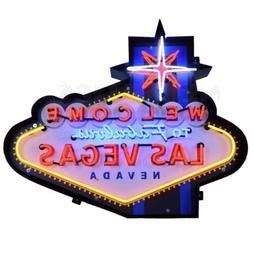 Welcome to Fabulous Las Vegas Neon Sign - Poker - Casino - S