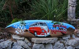 Welcome to Paradise VW Volkswagon Surfboard Sign Wall Plaque