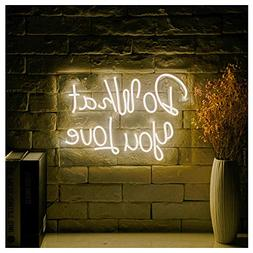 Do What You Love LED Neon Sign Lights Art Wall Decorative Li
