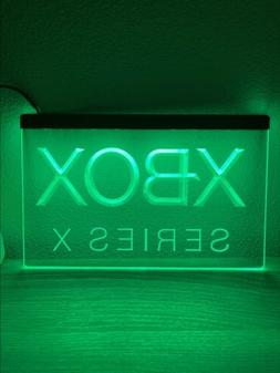 XBOX SERIES X LED NEON LIGHT SIGN 8x12