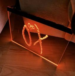 XO LED NEON LIGHT SIGN 8x12
