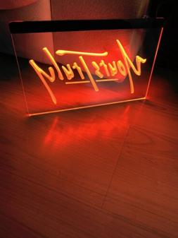 YOURS TRULY LED NEON LIGHT SIGN 8x12